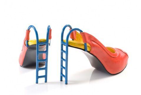heels for the sandbox!