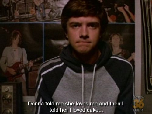 """could be a cute sign, just lettering and """"~ Eric Foreman"""" haha"""