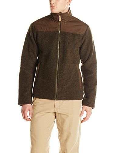 Fjallraven Mens Barents Storm Blocker Jacket Dark Olive Medium ...