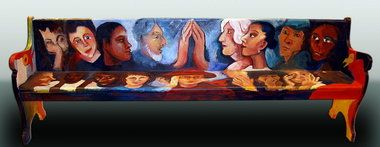 tutriddick.churchpew.mma.JPG By the fabulous Mobile, AL artist Tut Altman Riddick