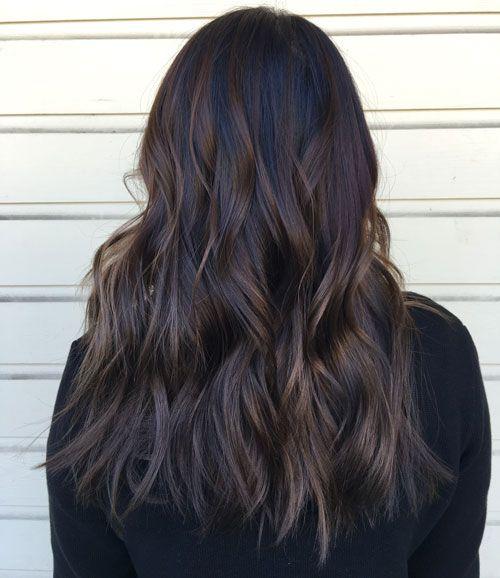 Top Balayage For Dark Hair Black And Dark Brown Hair Balayage Color 2020 Guide Dark Brown Hair Balayage Brown Hair Balayage Dark Brown Hair Color