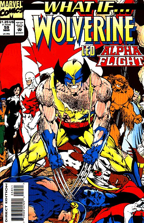 What if vol 2 59 wolverine led alpha flight xmen - Wolverine cgi ...