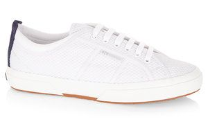 Since launching his international brand with his father, Charlie is fast becoming a favourited name in the menswear fashion industry.  Together, Charlie Casely-Hayford and Superga have collaborated to create modernist sportswear inspired designs in clean lines and classic shapes.  Using a breathable sports mesh fabric and luxury leather detailing...