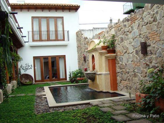Fachadas de casas rusticas de dos pisos con balcon - Fachadas de casas mexicanas rusticas ...