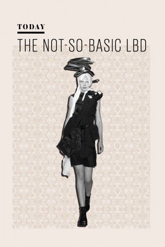 The History Of The Little Black Dress: Today — While black may have been replaced with neons, pastels, jewel tones, and other in-your-face hues, the LBD is still ubiquitous. Nowadays, women are looking for a dress with a little more personality. From the sheer polka dots at Stella McCartney to the avant-garde deconstruction of Comme des Garçons, the LBD is definitely not your mother's dress.