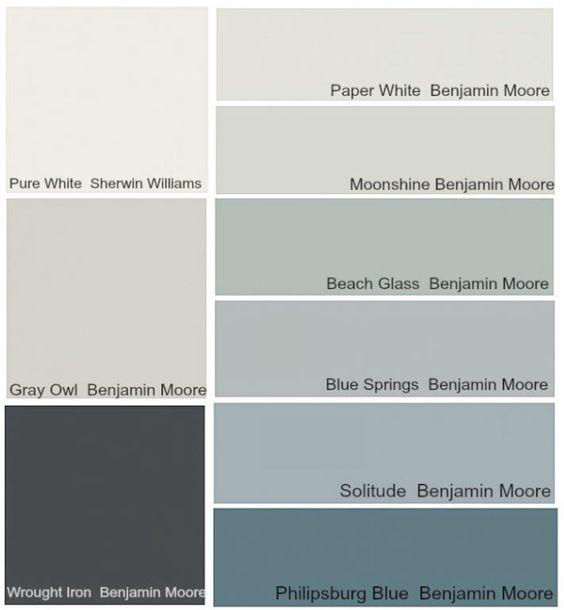 Transitional Paint Color Palette Color Palette Monday 3: TRANSITIONAL NEW COLOURS FOR 2015 Footnote: Moonshine