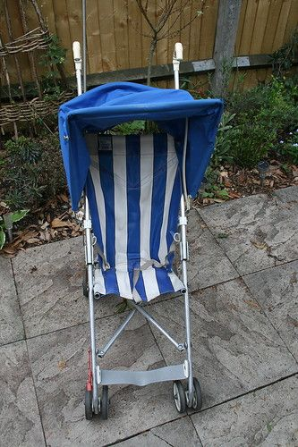 My old pushchair from when I was a toddler