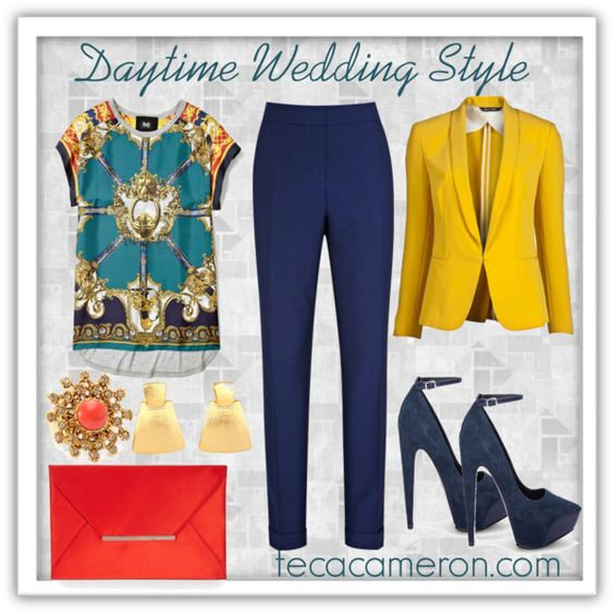 Daytime wedding Style, created by tcfashionista on Polyvore