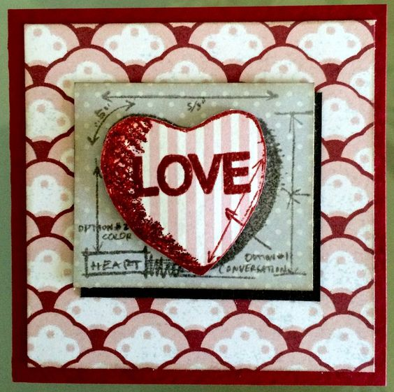 Tim Holtz Valentine Mini Blueprints - Scrapbook.com