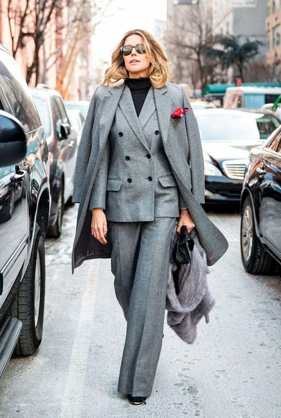 Безупречный брючный костюм на все случаи жизни для женщин 45, 50, 55 лет | Новости моды