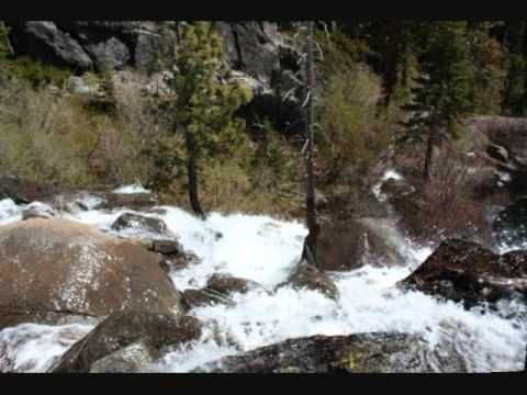 Eagle Falls Trail at Emerald Bay, Lake Tahoe, California.