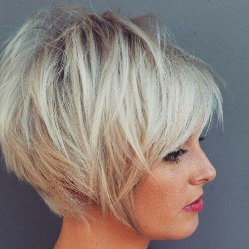 50 Glamourose Gestapelte Bob Frisuren Kurzhaarfrisuren Kurzhaarschnitte Haarschnitt