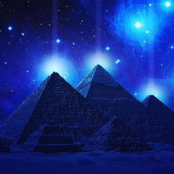 I am in love with pyramids and the energy they create :-)