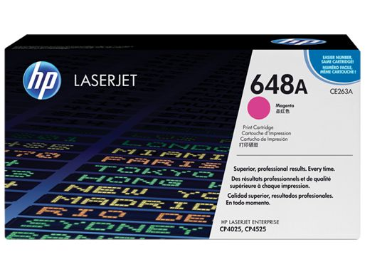 Muc In Hp 648A Magenta Laserjet Toner Cartridge , Mực in HP 648A Magenta LaserJet Toner Cartridge