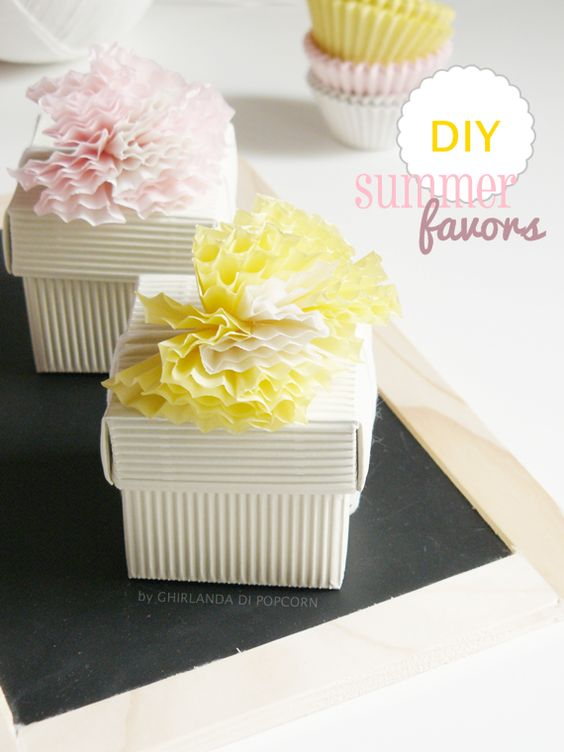 DIY: summer favors