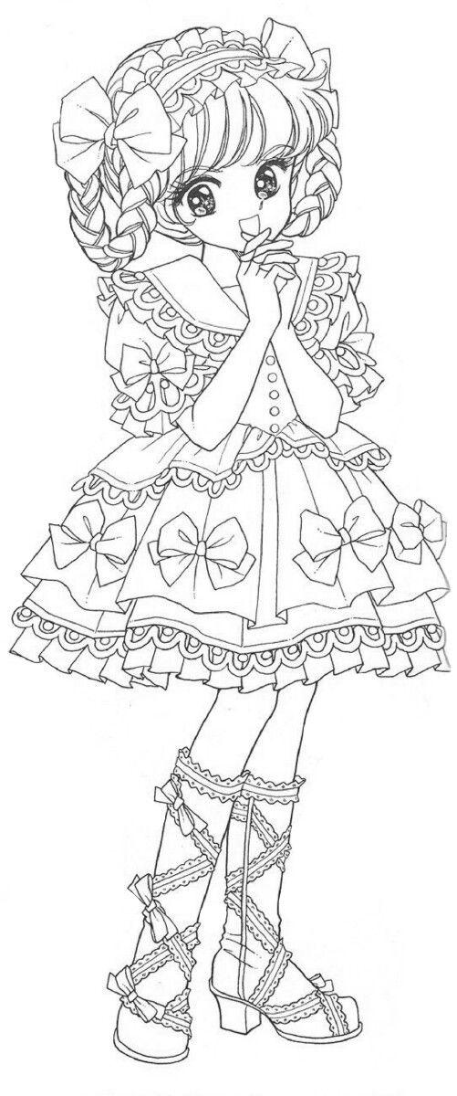 ジョアンナ ぬりえ In 2020 Coloring Pages Colouring Pages Manga Art