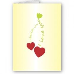 Cherry Love Card