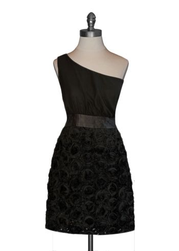 Black Rosette Dress, Moon Collection Love the pattern (not a big fan of the roses though)