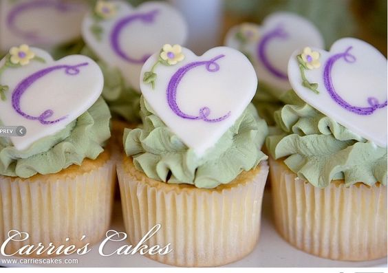 bridal shower cupcake ideas | Share