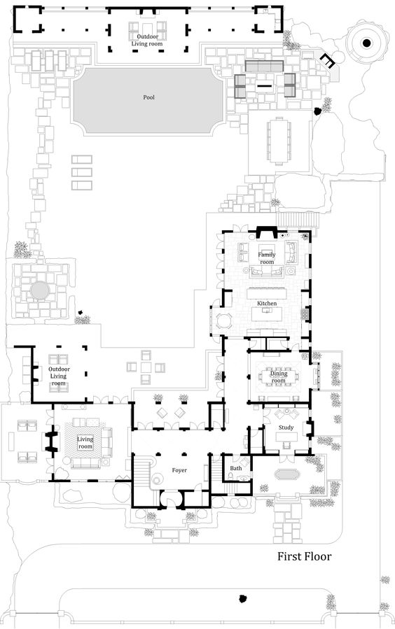 17 Best Images About Spanish House On Pinterest | Master Bedrooms, Basement  Plans And Guest Houses