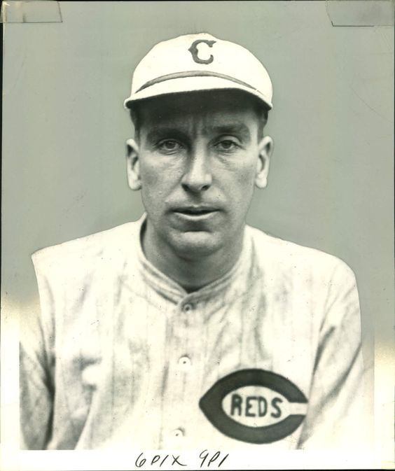 1925 - Eppa Rixey, pitcher for the Cincinnati Reds