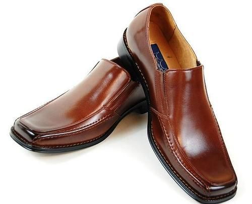 Majestic Designer Dress Oxford Shoes Brown