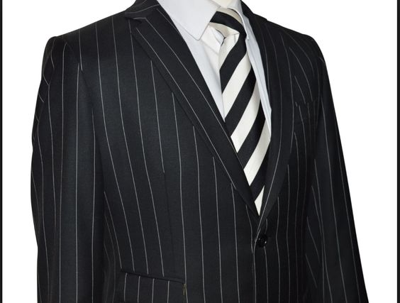 Childs Costume - Ref Adult Suit-Stripes