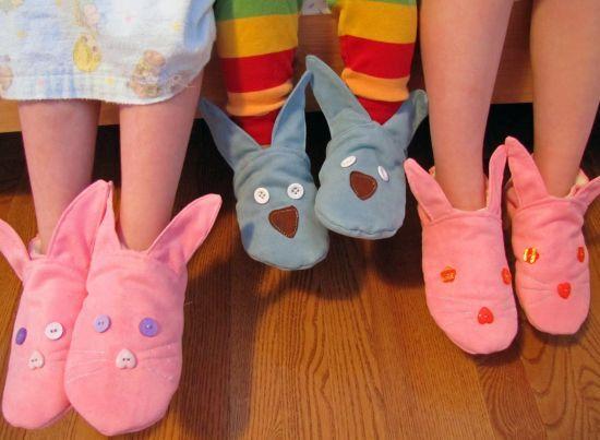 Fazer pantufa de coelho para a Páscoa será sucesso garantido entre as crianças  (Foto: Divulgação)