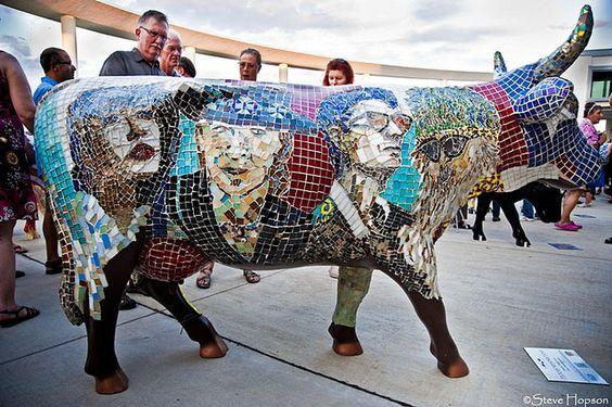 Cows on Parade: Texas Moosicians