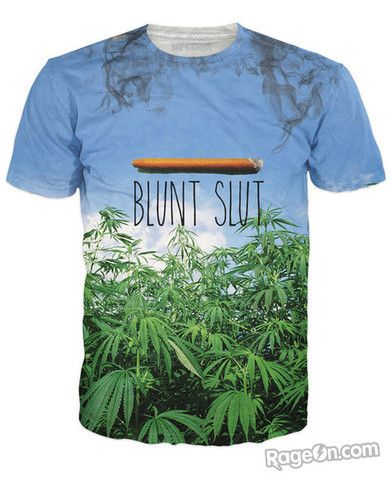 Blunt Slut v2 T-Shirt *Ready to Ship* - RageOn! - The World's Largest All-Over-Print Online Store