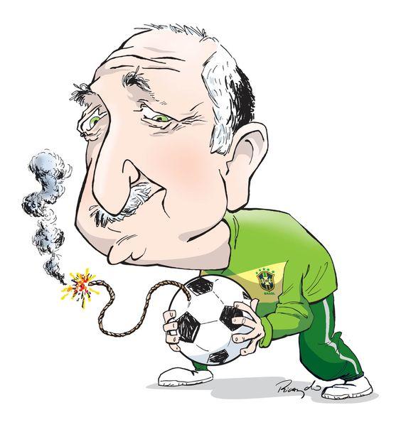 Caricatura feita para editoria de esporte do jornal O Popular - Goiânia