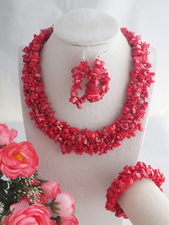 Find More Jewelry Sets Information about New Coral Beads Jewelry Set For African Wedding A 2649,High Quality Jewelry Sets from Changzhou Day Colour Jewelry Co., Ltd. on Aliexpress.com