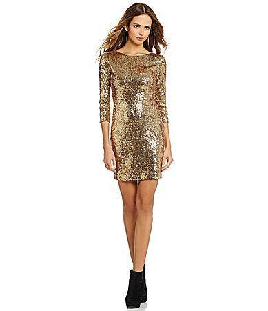 Gold dress dillards gold | Beautiful dresses | Pinterest | Mobiles ...