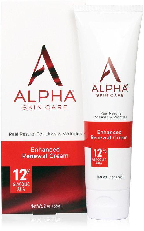 Alpha Skin Care Enhanced Renewal Cream Ulta Beauty Fragrance Free Products Anti Aging Formula Renew Skin