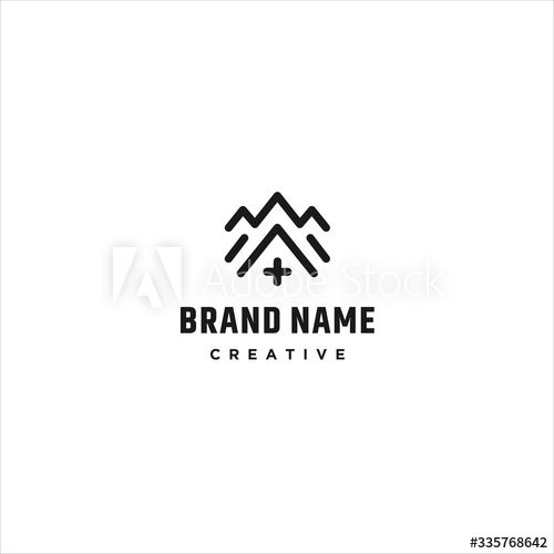 adventure plus logo template design in vector illustration ad ad template logo adventure illustr in 2020 template design logo templates vector illustration pinterest
