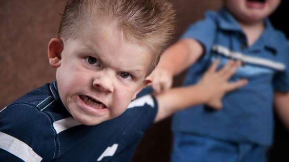 criança agressiva