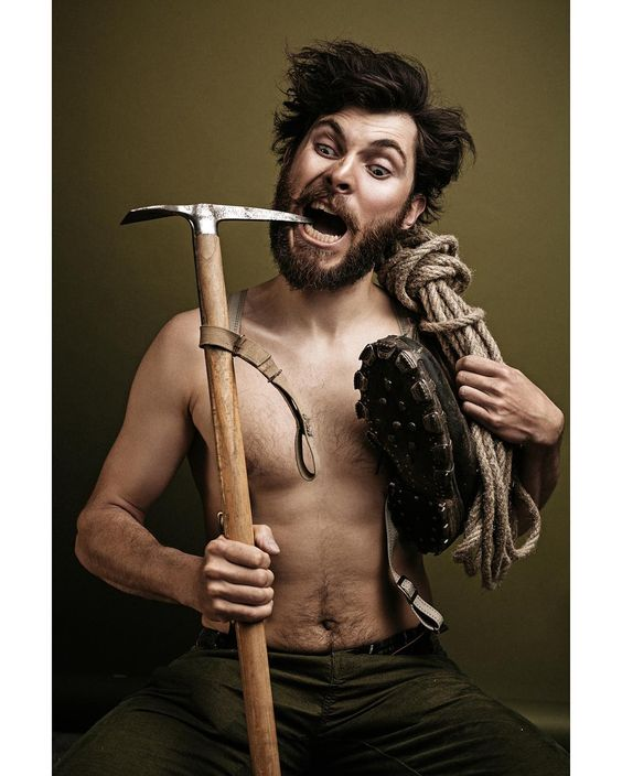 Retro Climber  Photographer: Cornelius Loruenser -Photögraphy.com @photoegraphydotcom Model: Daniel Hug  #DarkBeauty #DarkBeautyMag #photography by darkbeautymag