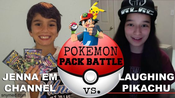 #VIDEO: Pokemon Ancient Origins Booster Pack Battle: Jenna Em VS. Laughing Pikachu!  WATCH: https://youtu.be/PkoN7pmboQI