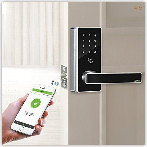 Zkteco Dl30b Bluetooth Touchscreen Keyless Photo And Best Keyless Bluetooth Canada Door Keyless Lock Pcs Rfid S Smart Door Locks Bluetooth Lock Keyless Locks