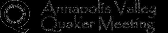 Annapolis Valley Quaker Meeting header image