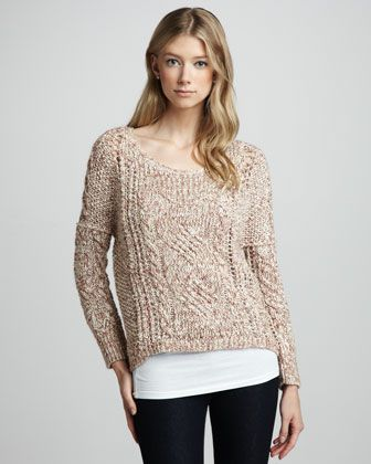 West End Pullover by Free People at Neiman Marcus. <3 <3 <3