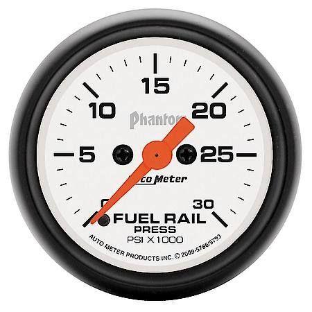 Autometer Phantom Fuel Rail Pressure Gauge 5793 In 2020 Fuel Pressure Gauge Gauges Pressure Gauge