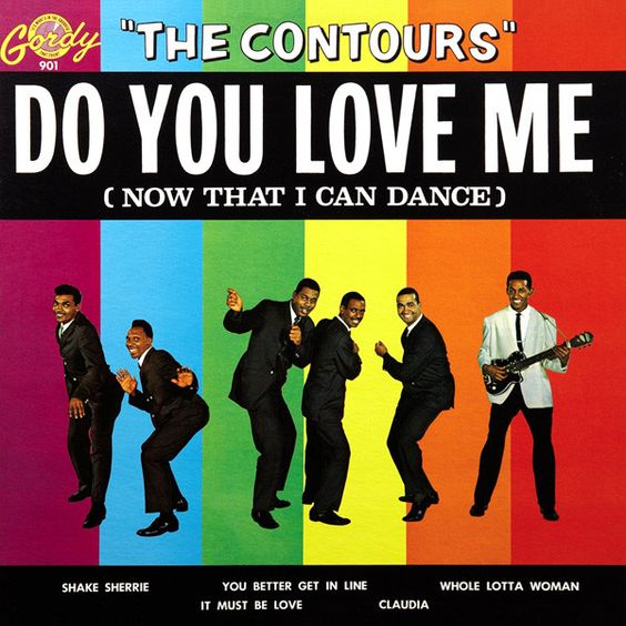 The Contours – Do You Love Me (single cover art)