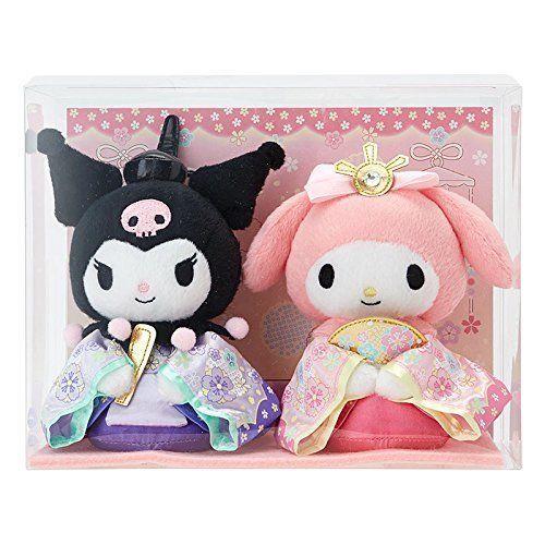 My Melody Kuromi Glitter Doll Plush F//S JAPAN