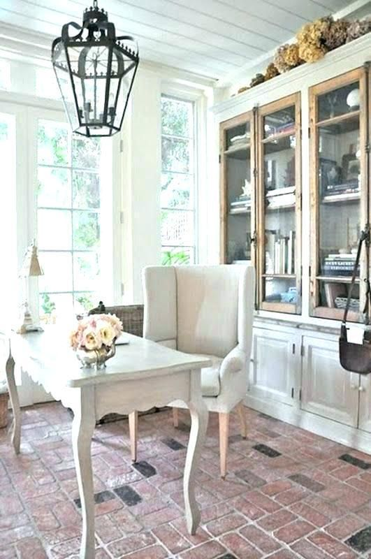 Shabby Chic Office Furniture Feminine Home Offices Home Office