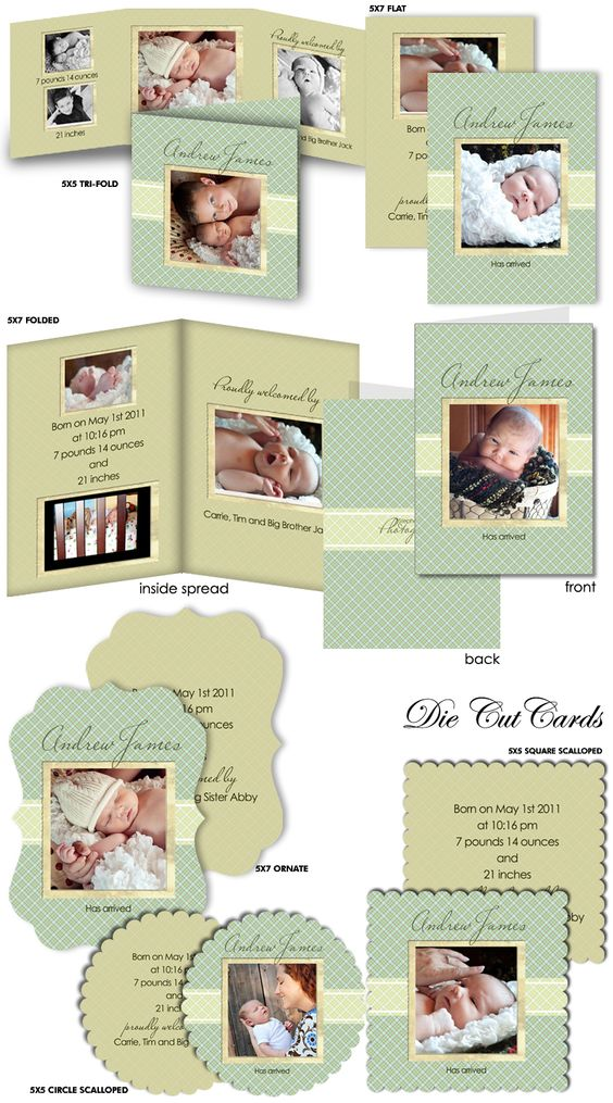 Pinterest The worlds catalog of ideas – Printed Birth Announcements