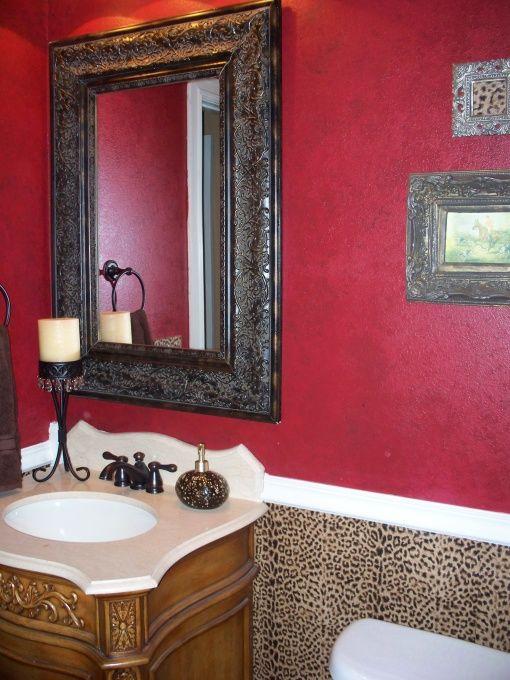 Cheetah bathroom cheetah print bathroom accessories for Cheetah bathroom ideas