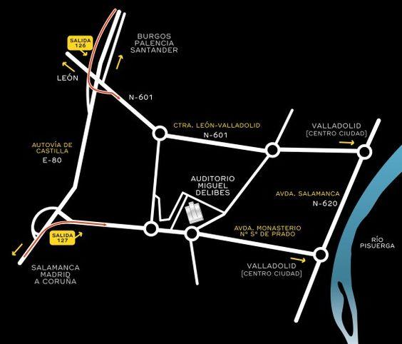 En 2014 AR&PA se traslada al Centro Cultural (Auditorio) Miguel Delibes. El plano te explica cómo llegar