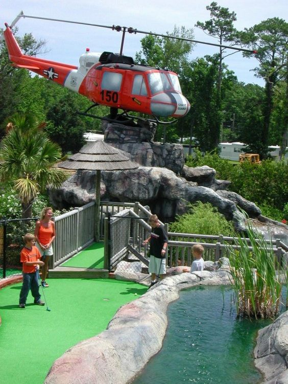 The 15 Best Miniature Golf Courses Miniature Golf Course