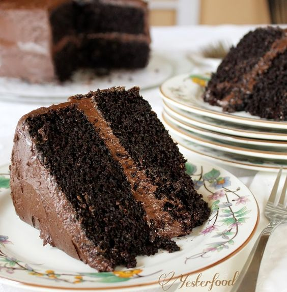 Rich Chocolate Layer Cake